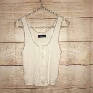 Reformation women's size white sexy tank top
